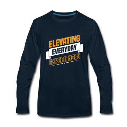 Elevating Everday Experiences - deep navy