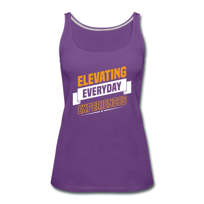 Elevating Everday Experiences - purple