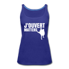 J'ouvert Matters - royal blue