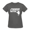 J'ouvert Matters - charcoal