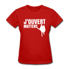 J'ouvert Matters - red