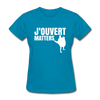J'ouvert Matters - turquoise