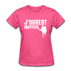J'ouvert Matters - heather pink