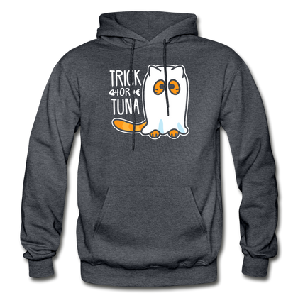 Trick or Tuna - charcoal gray