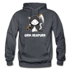 Grim Reapurr - charcoal gray