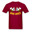 Boo Bees - dark red