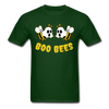 Boo Bees - forest green