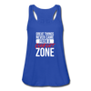 Great Things Never Came from a Comfort Zone - royal blue