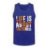 Life Is About Togetherness - royal blue