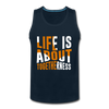 Life Is About Togetherness - deep navy