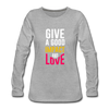 Give a Good Impact and Love - heather gray