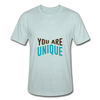 You Are Unique - heather prism ice blue