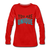 You Are Unique - red