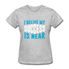 I Belive My Success Is Near - heather gray