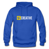 Be Creative - royal blue