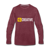 Be Creative - heather burgundy