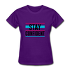 Stay Confident - purple