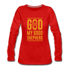 God is my Good Shepherd - red