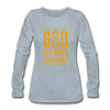 God is my Good Shepherd - heather ice blue