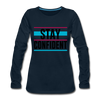 Stay Confident - deep navy