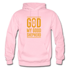 God is my Good Shepherd - light pink