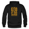 God is my Good Shepherd - black