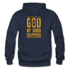 God is my Good Shepherd - navy