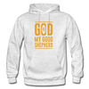 God is my Good Shepherd - light heather gray