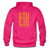 God is my Good Shepherd - fuchsia