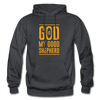 God is my Good Shepherd - charcoal gray