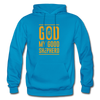 God is my Good Shepherd - turquoise
