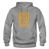 God is my Good Shepherd - graphite heather