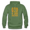 God is my Good Shepherd - military green