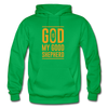 God is my Good Shepherd - kelly green