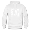 Stay Humble - white