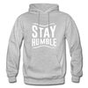 Stay Humble - heather gray