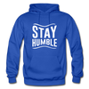 Stay Humble - royal blue