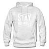 Stay Humble - light heather gray