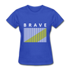 Brave - royal blue