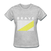 Brave - heather gray