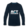 Act For Success - deep navy