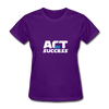 Act For Success - purple