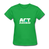 Act For Success - bright green
