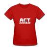 Act For Success - red