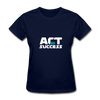 Act For Success - navy