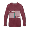 Kindness - heather burgundy