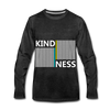Kindness - charcoal gray