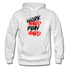 Work Hard , Pray Hard - light heather gray