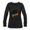 Make Today Great - black