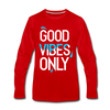 Good Vibes Only - red